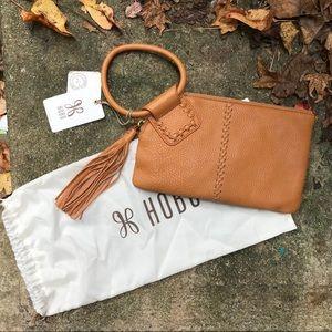 NWT HOBO International Leather Clutch Bag